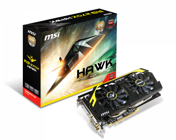 Radeon R9 270X HAWK | Graphics card - The world leader in