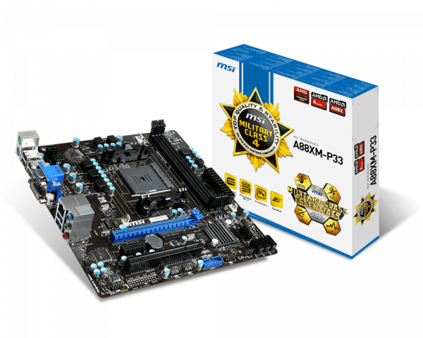 MSI A88XM-P33 Drivers for Windows 7
