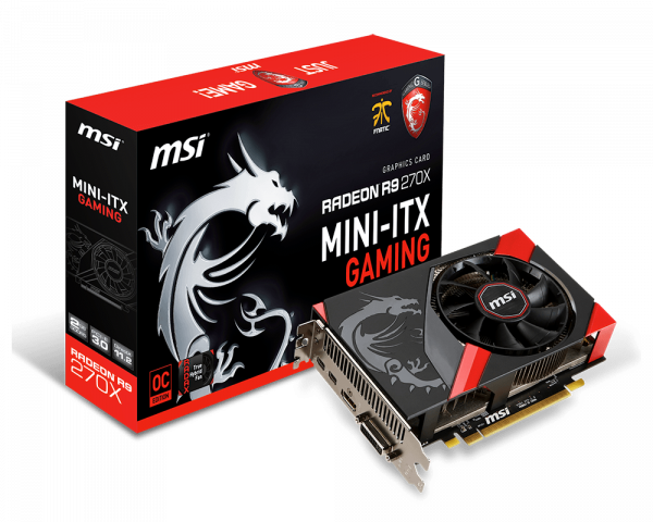 Specification for Radeon R9 270X GAMING 2G ITX | Graphics card - The