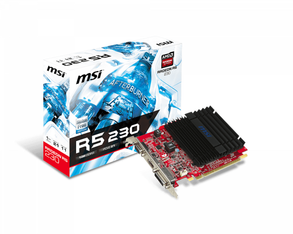 Radeon R5 230 1GD3H | Graphics card - The world leader in