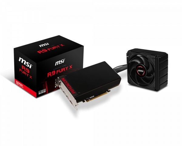 PCI Express Solution Graphics Cards Radeon R9 Fury X 4G