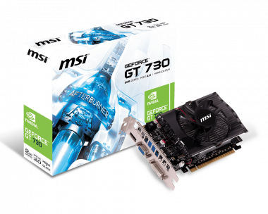 MSI N730-2GD3 Graphics Card Download Driver