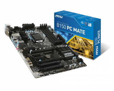 MSI B150 PC MATE Mac