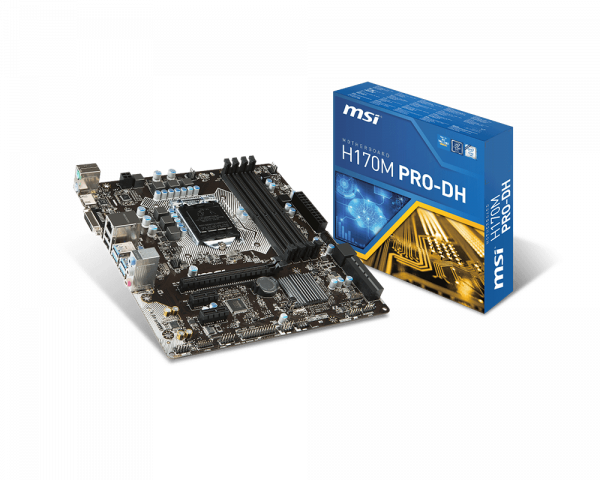 MSI H170M PRO-DH Drivers Windows 7