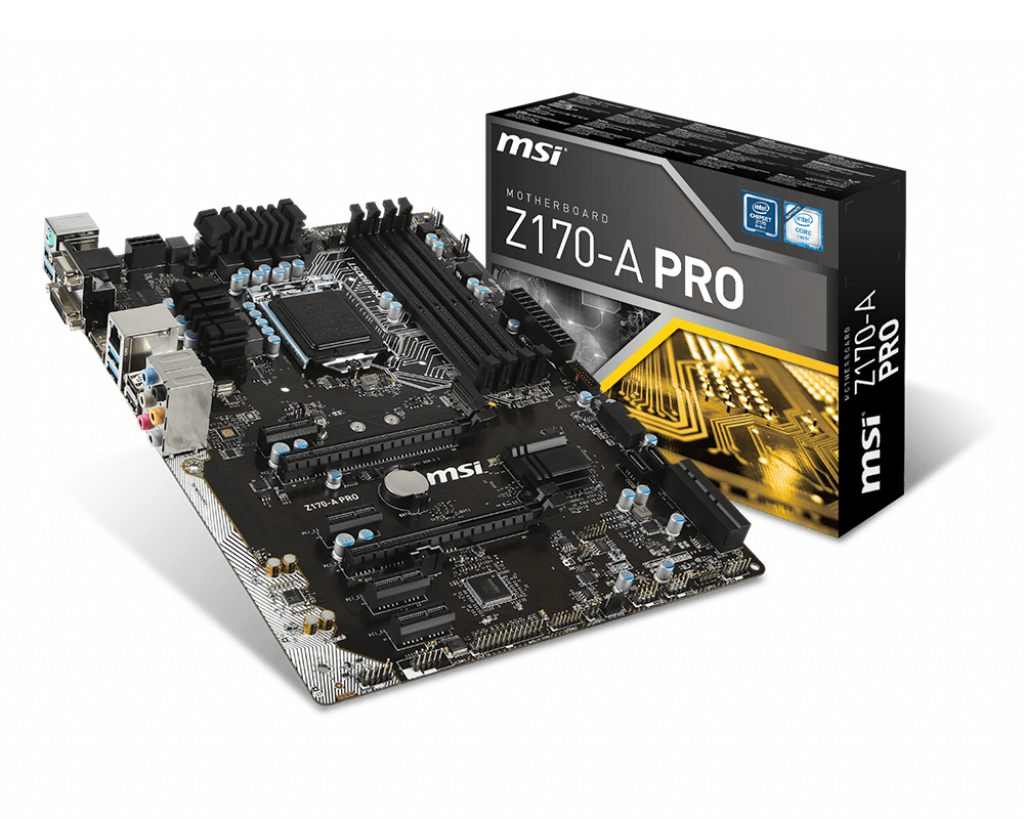 Z170 A Pro Motherboard The World Leader In Design Block Diagram On Hard Disk Additionally Intel Z77 Chipset Msi Global