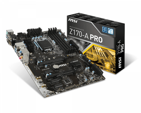 Z170-A PRO | Motherboard - The world leader in motherboard design