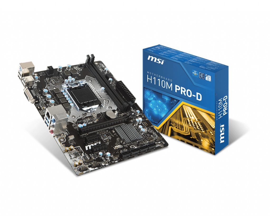 Support For H110M PRO-D | Motherboard - The world leader in