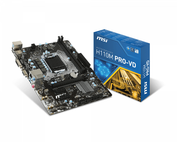 H110M PRO-VD   Motherboard - The world leader in motherboard