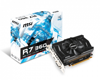Support For Radeon R7 360 2GD5 OC | Graphics card - The world leader