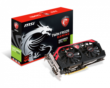 Support For N760 TF 2GD5/OC | Graphics card - The world leader in