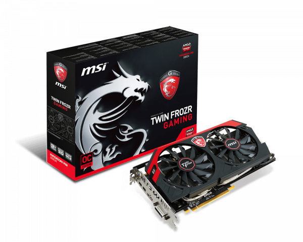 Specification for Radeon R9 280X GAMING 3G   Graphics card - The