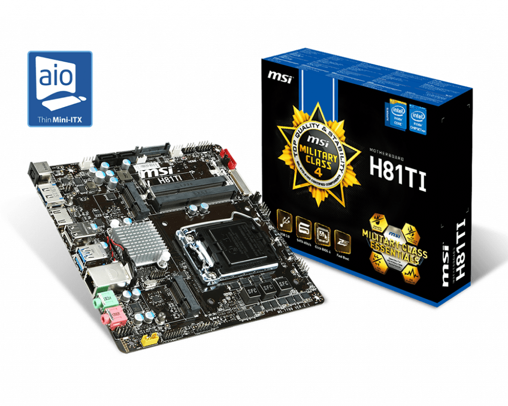 H81TI | Motherboard - The world leader in motherboard design