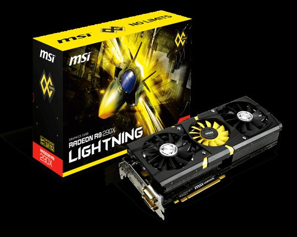 Radeon R9 290X LIGHTNING | Graphics card - The world leader in