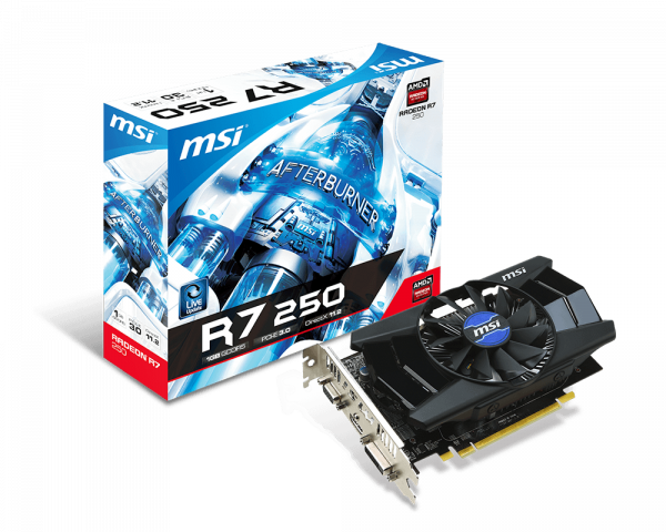 Radeon R7 250 1GD5   Graphics card - The world leader in
