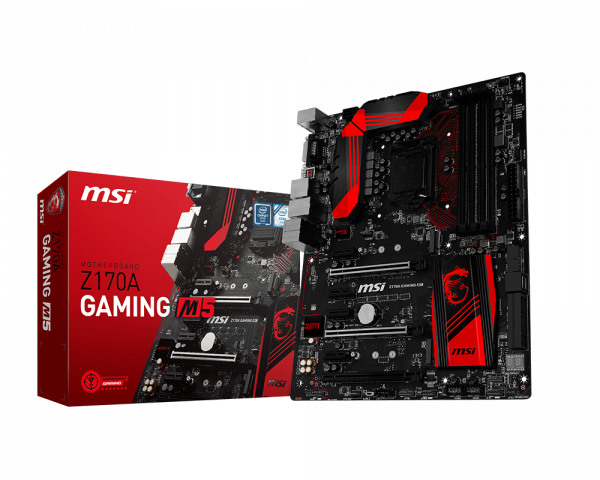 Driver: MSI Z170A Gaming M5 Killer Network