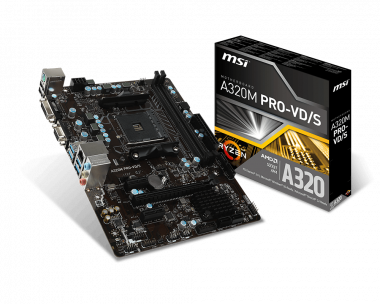 Support For A320M PRO-VD/S   Motherboard - The world leader
