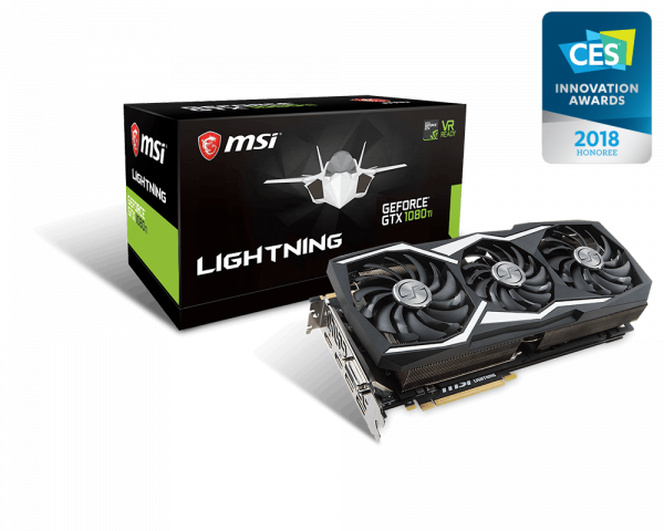 GeForce GTX 1080 Ti LIGHTNING Z | Graphics card - The world leader