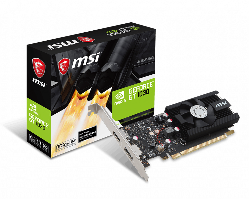 GeForce GT 1030 2G LP OC | Graphics card - The world leader