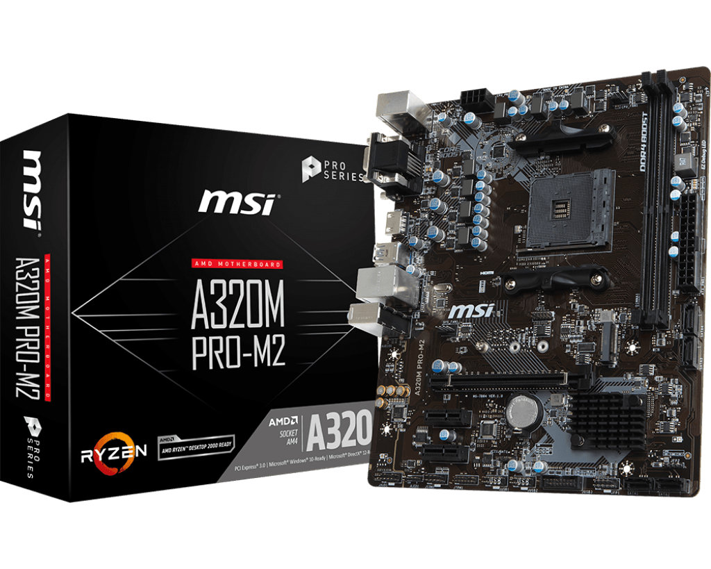 Specification for A320M PRO-M2 | Motherboard - The world leader in