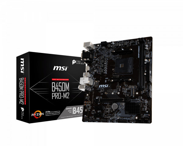 B450M PRO-M2 | Motherboard - The world leader in motherboard design