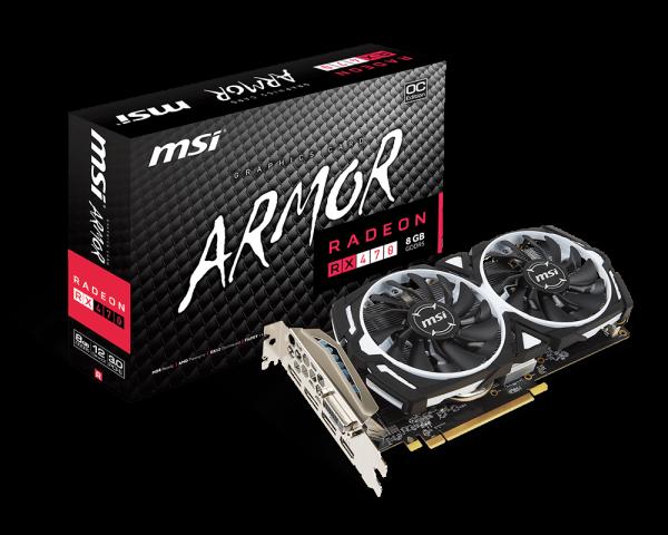 Radeon RX 470 ARMOR 8G OC | Graphics card - The world leader