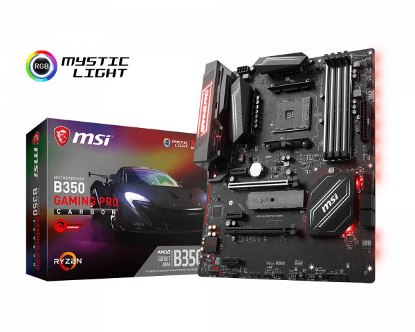B350 GAMING PRO CARBON | Motherboard - The world leader in