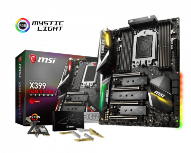 Support For X399 GAMING PRO CARBON AC | Motherboard - The world