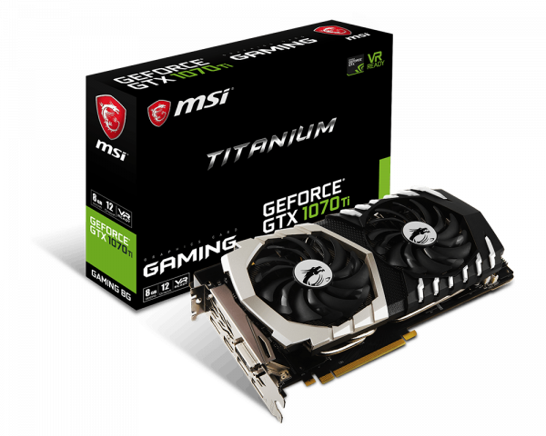 GeForce GTX 1070Ti Titanium 8G