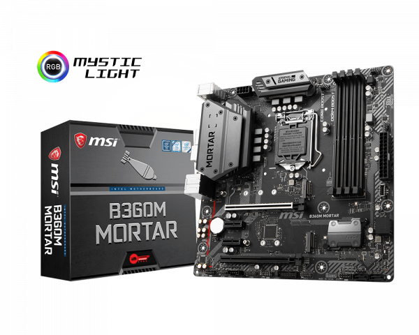 B360M MORTAR | Motherboard - The world leader in motherboard design