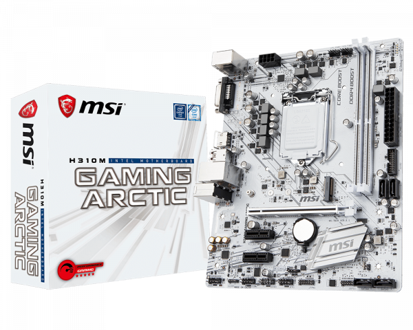 db6d49959f1 H310M GAMING ARCTIC | Motherboard - The world leader in motherboard ...