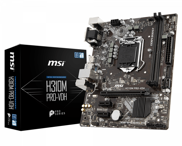 H310M PRO-VDH | Motherboard - The world leader in motherboard design