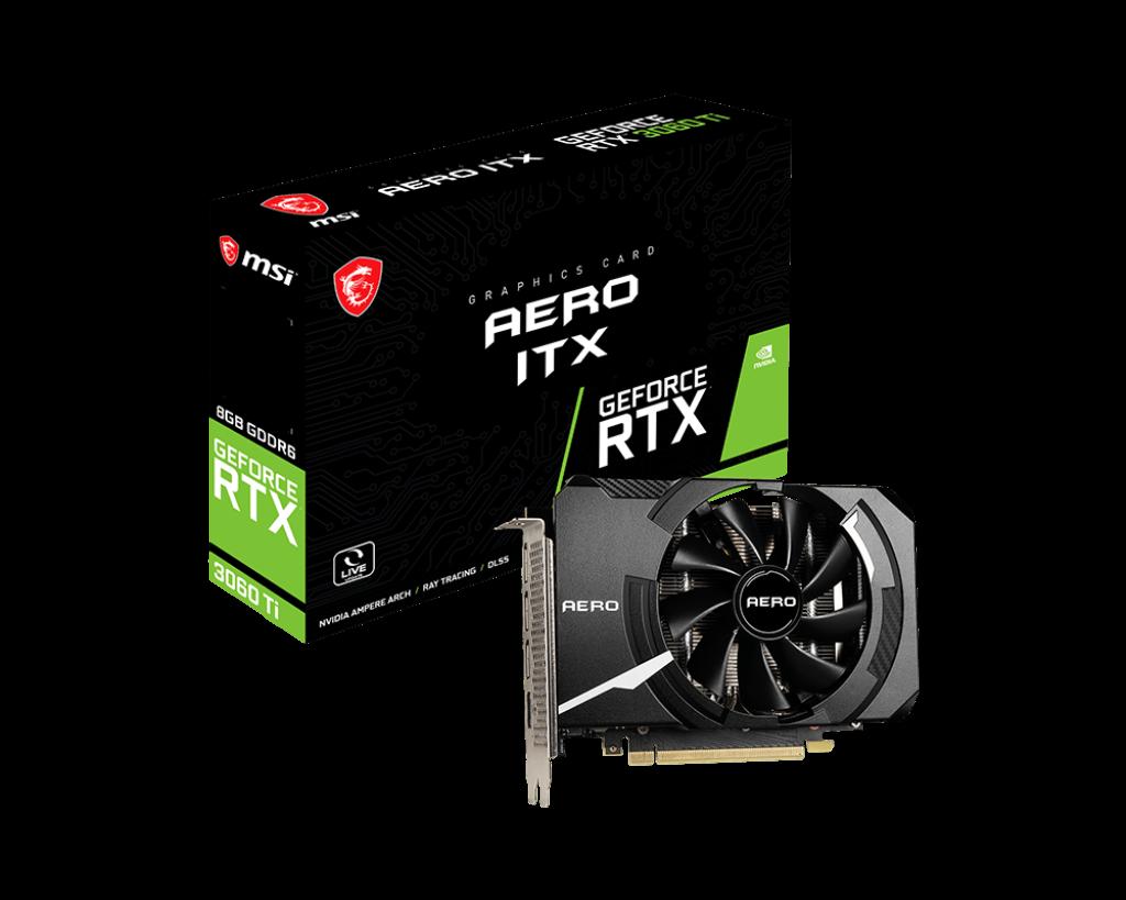 GeForce RTX™ 3060 Ti AERO ITX