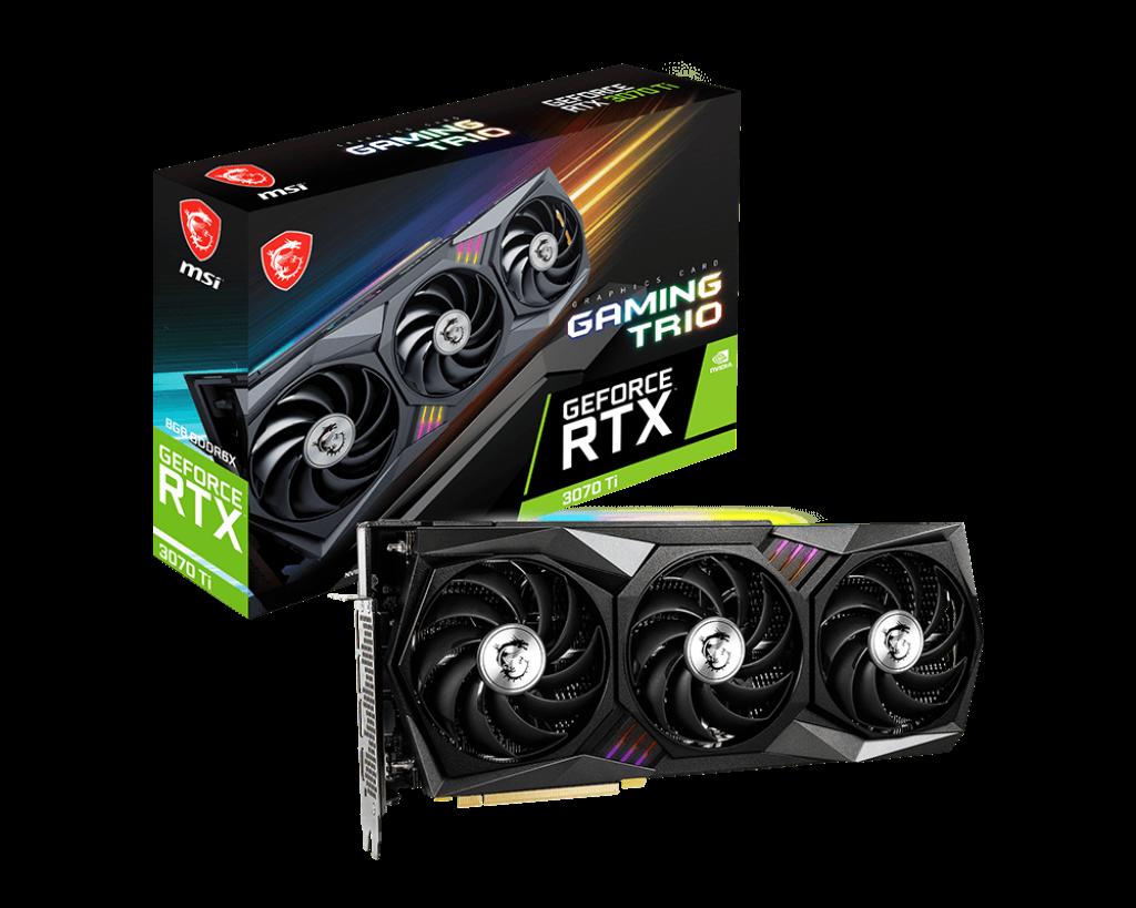 GeForce RTX™ 3070 Ti GAMING TRIO 8G