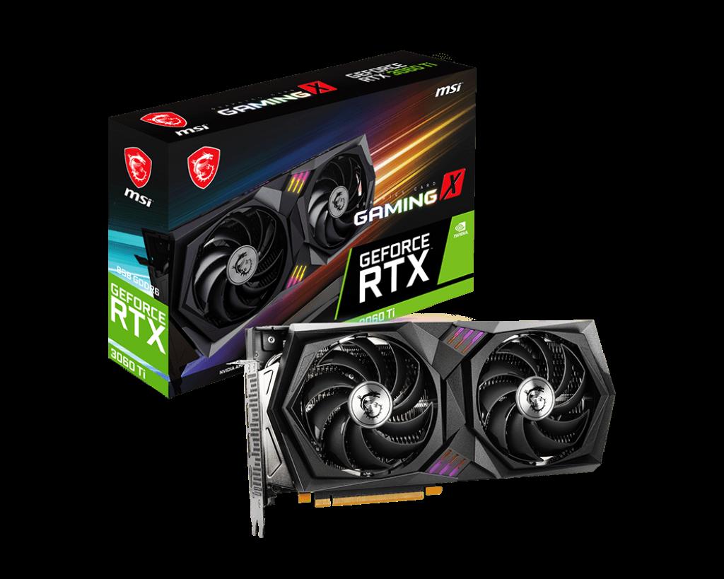 GeForce RTX™ 3060 Ti GAMING X 8G LHR