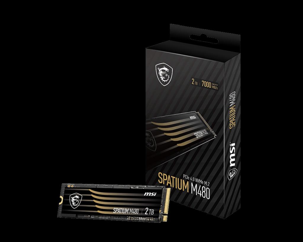 SPATIUM M480 PCIe 4.0 NVMe M.2