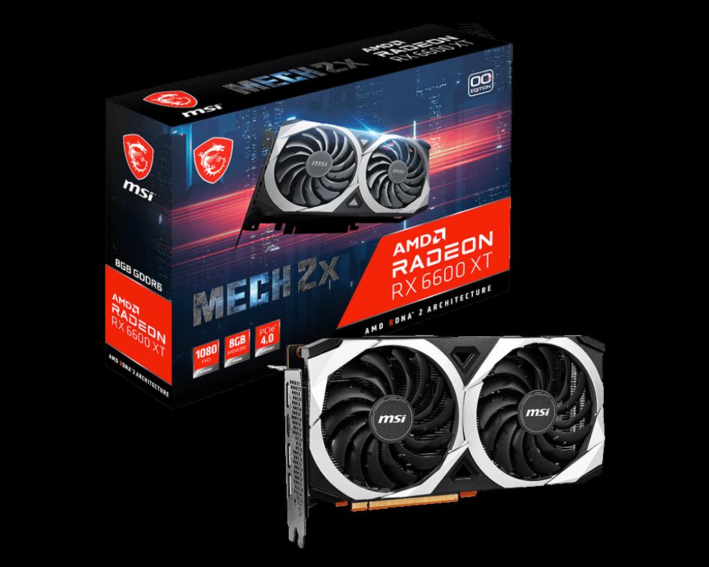 Radeon™ RX 6600 XT MECH 2X 8G OC