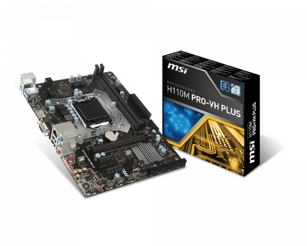 H110M PRO-VH PLUS | Motherboard - The world leader in motherboard