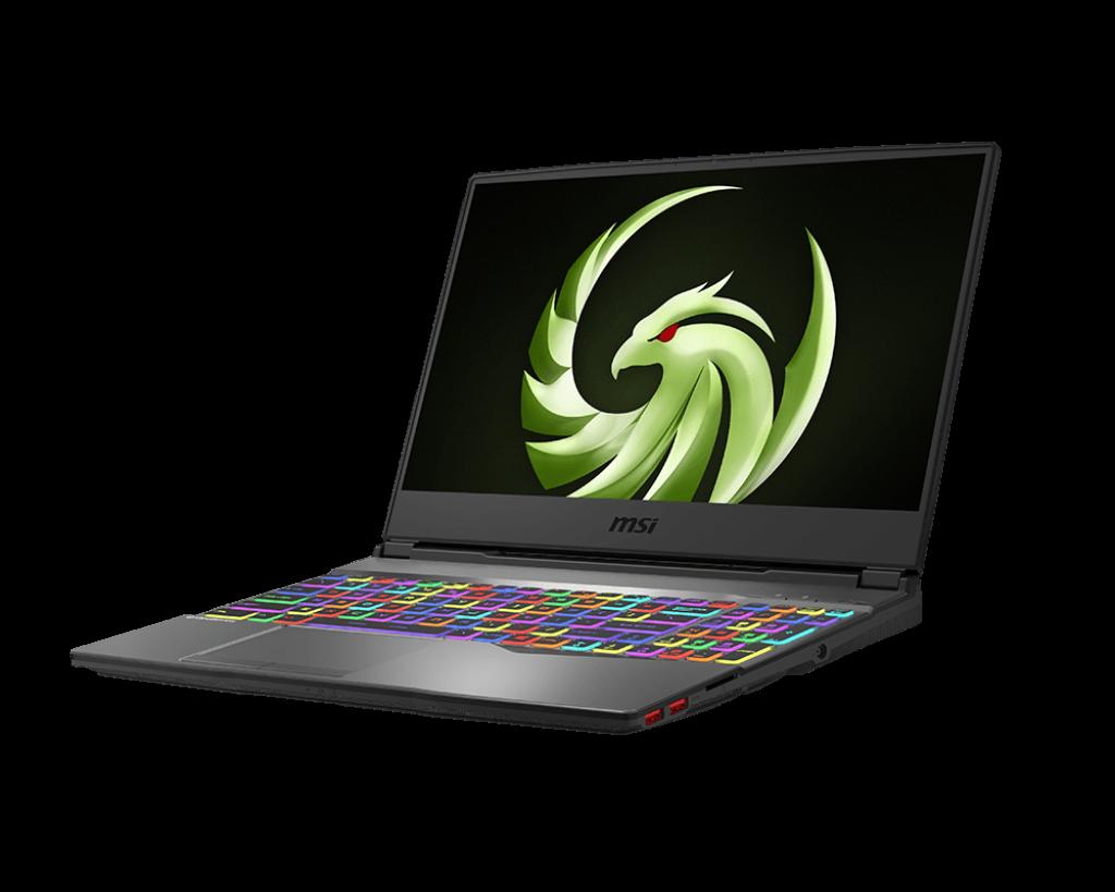 MSI Alpha 15 – 7nm Technology Gaming Laptop