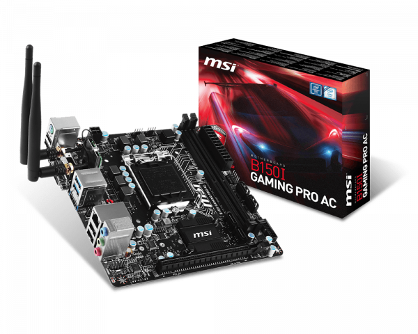 B150I GAMING PRO AC | Motherboard - The world leader in motherboard on