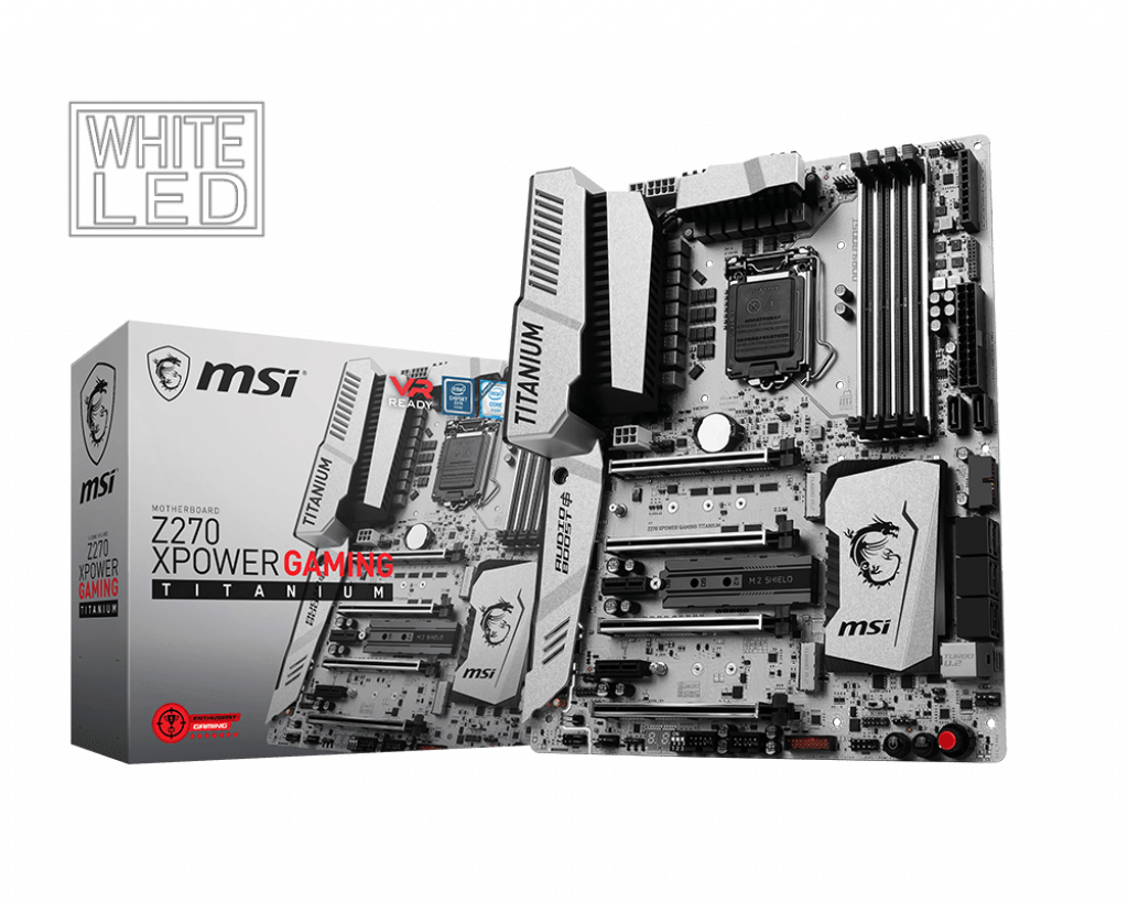 Z270 XPOWER GAMING TITANIUM   Motherboard - The world leader in