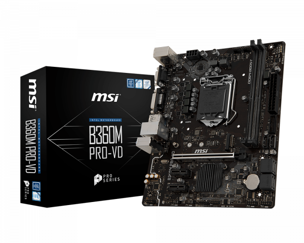 B360M PRO-VD | Motherboard - The world leader in motherboard design