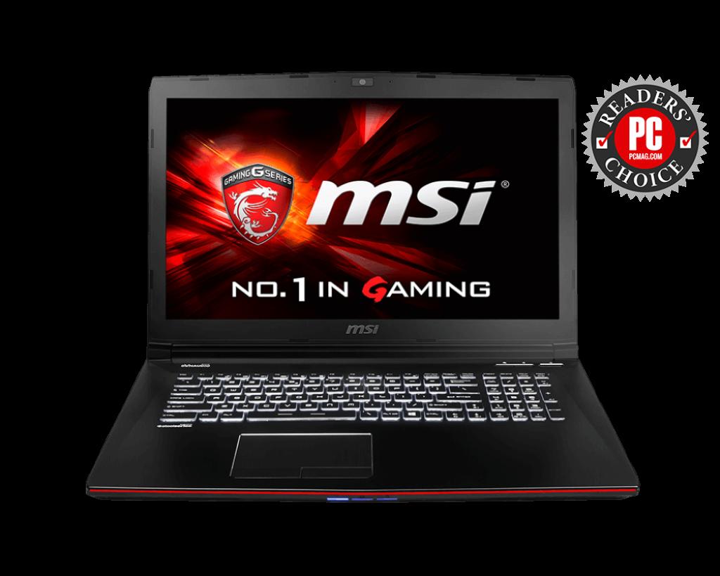 MSI GE72 2QC Apache EC Windows Vista 64-BIT