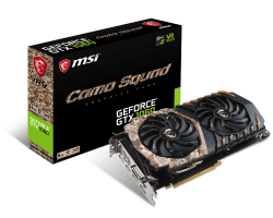 GeForce GTX 1060 CAMO SQUAD 6G