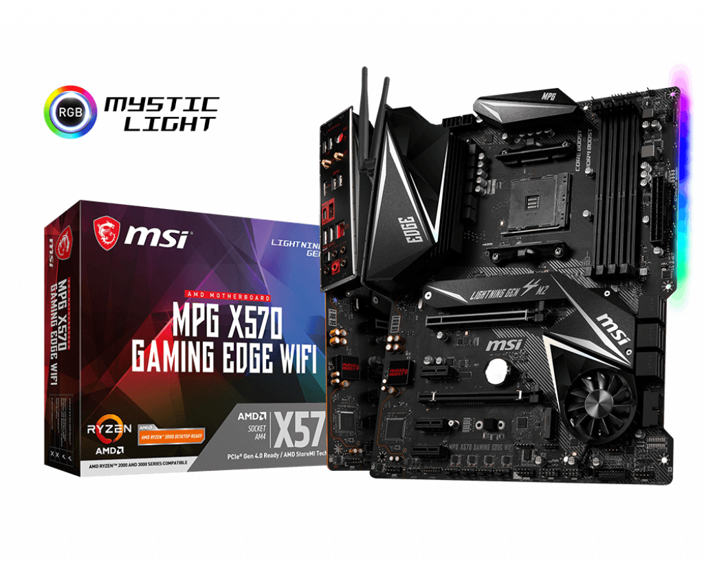 Specification for MPG X570 GAMING EDGE WIFI | Motherboard