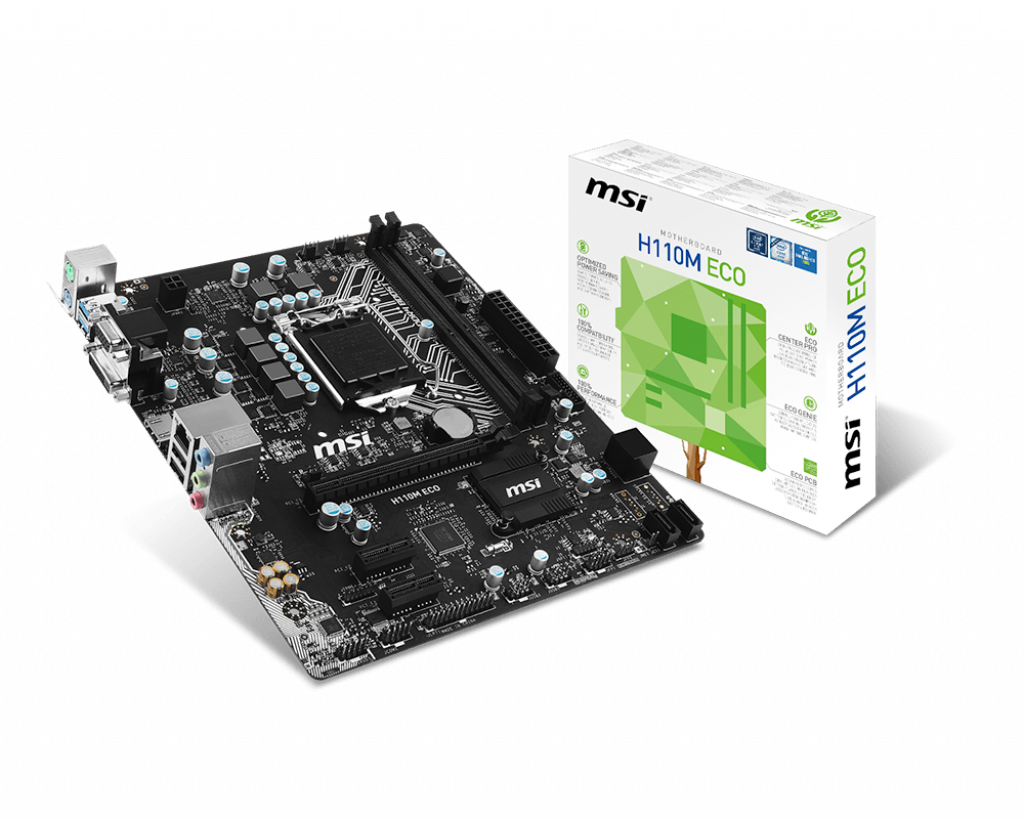 H110M ECO | MSI USA | Motherboard - The world leader in ...