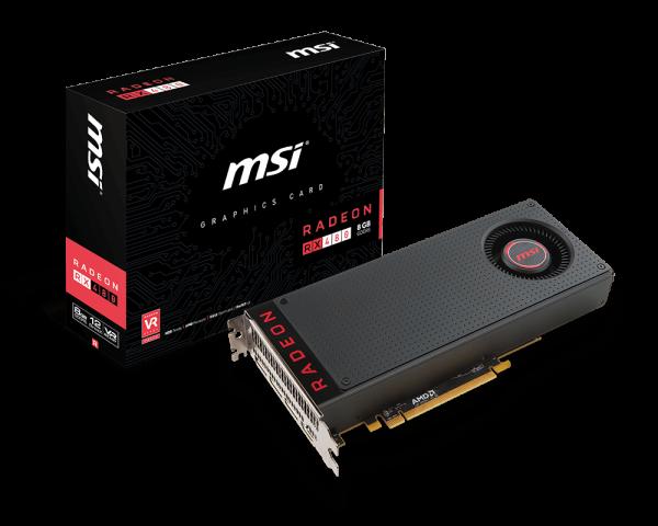 Radeon™ Radeon RX 480 8G | Graphics card - The world leader