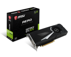 GeForce GTX 1070 AERO 8G OC
