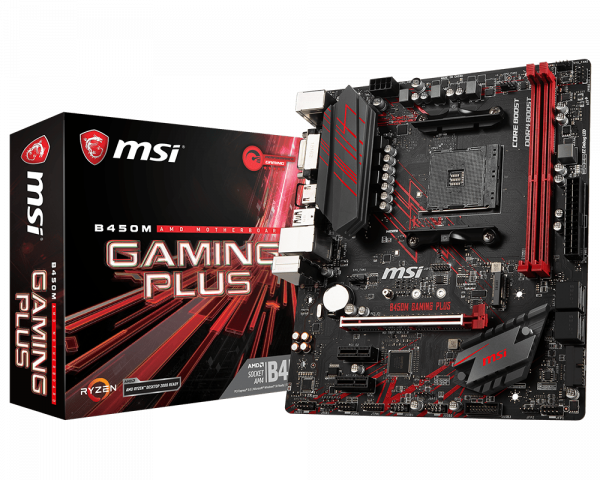 B450M GAMING PLUS | Motherboard - The world leader in motherboard