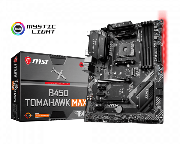 Image result for msi b450 tomahawk max