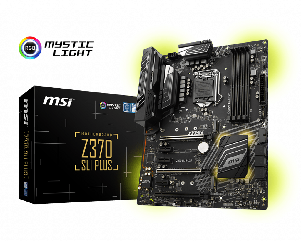 Z370 Sli Plus Motherboard The World Leader In Design Light Between 3 Way Switches Power Via How To Wire A Msi Global